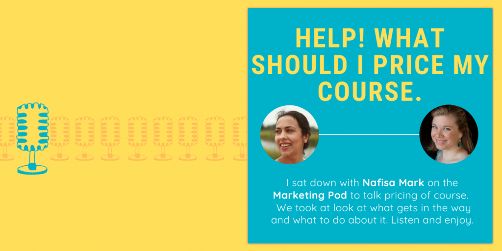 The Pricing Lady with Nafisa Mark on the Marketing Pod