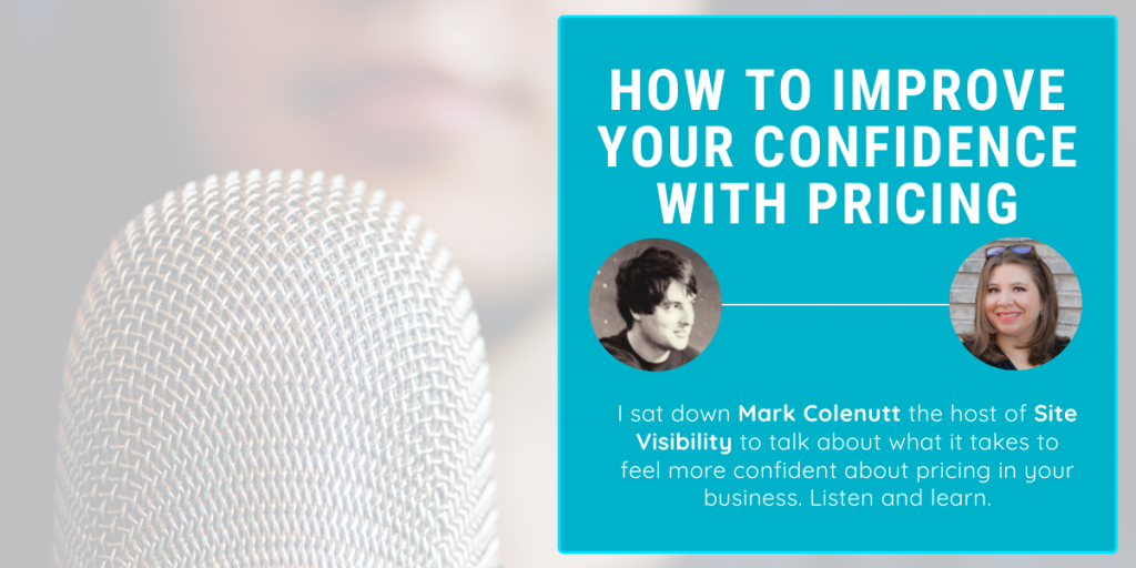 How to improve confidence in pricing   The Pricing Lady