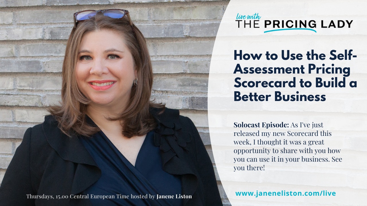How to Use the Self-assessment Pricing Scorecard to Build a Better Business