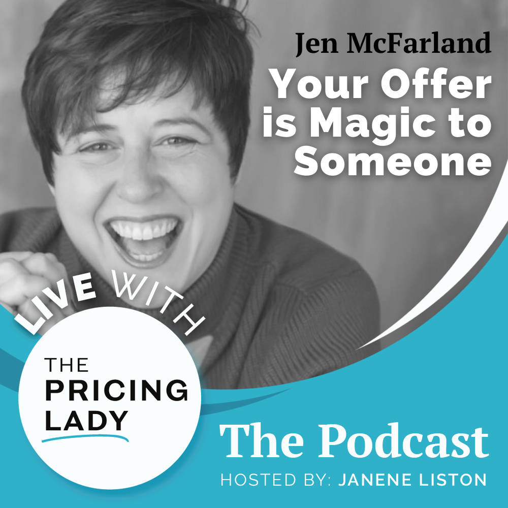 Jen MacFarland on Live with the Pricing Lady the Podcast